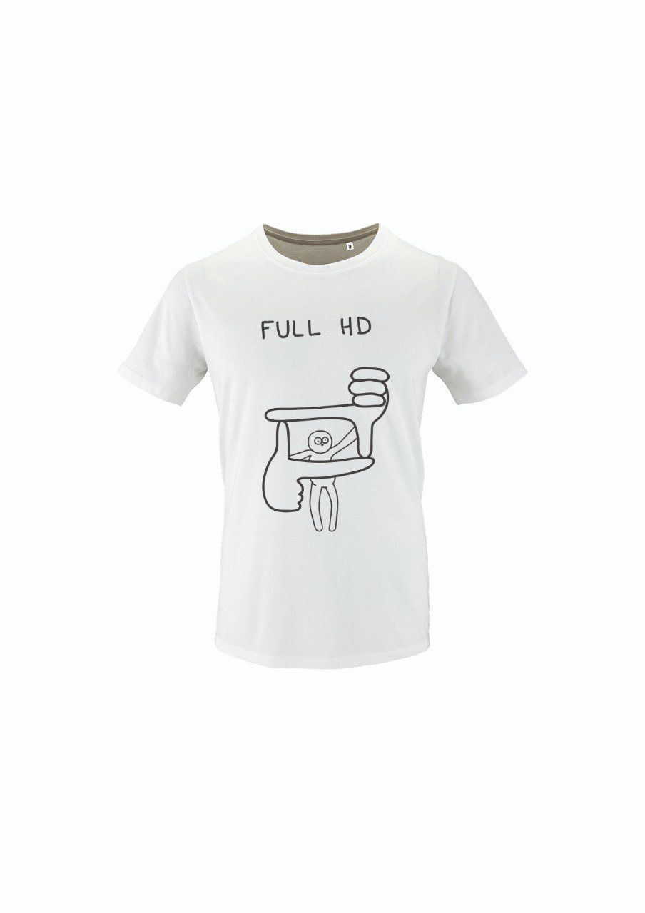 T-Shirt Blanc - Full HD